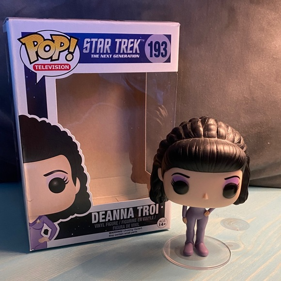 Dianna Troi Funko pop Star Trek TNG